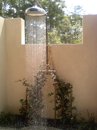 Custom Outdoor Shower - Estero, Florida Click here for details and larger photo